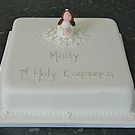 Anniversary, Christening and 1st Communion cakes